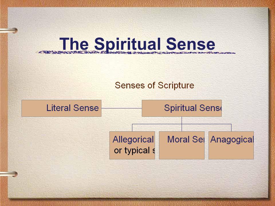 The Spiritual Sense