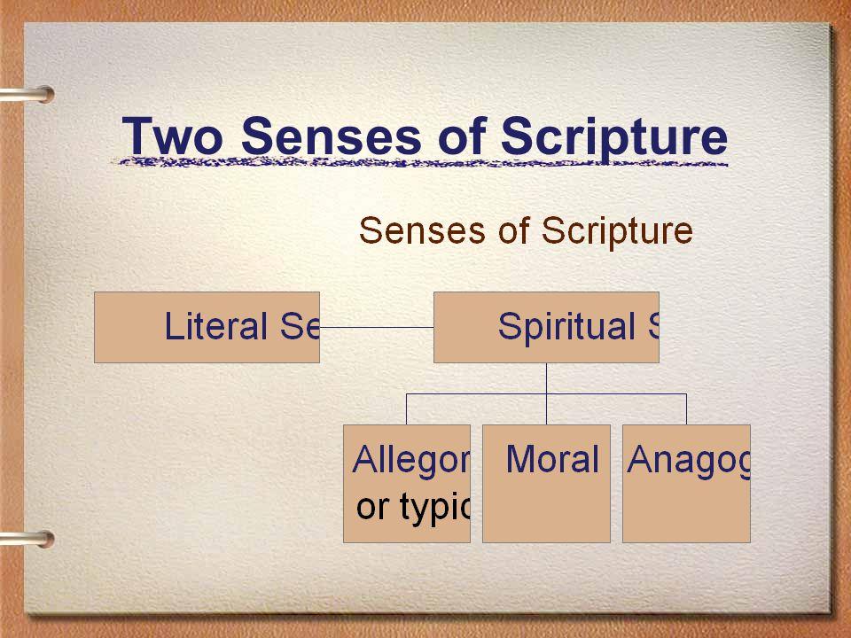 The Literal Sense of Scripture