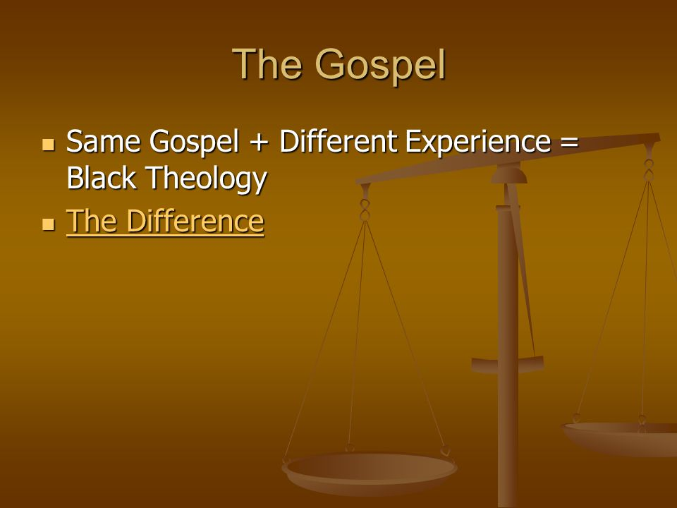 Black Theology Black theology is an attempt to analyze the nature of that reality [reality of God], asking what we can say about the nature of God in view of God's self-disclosure in biblical history and the oppressed condition of black Americans. Black theology is an attempt to analyze the nature of that reality [reality of God], asking what we can say about the nature of God in view of God's self-disclosure in biblical history and the oppressed condition of black Americans. James Cone James Cone