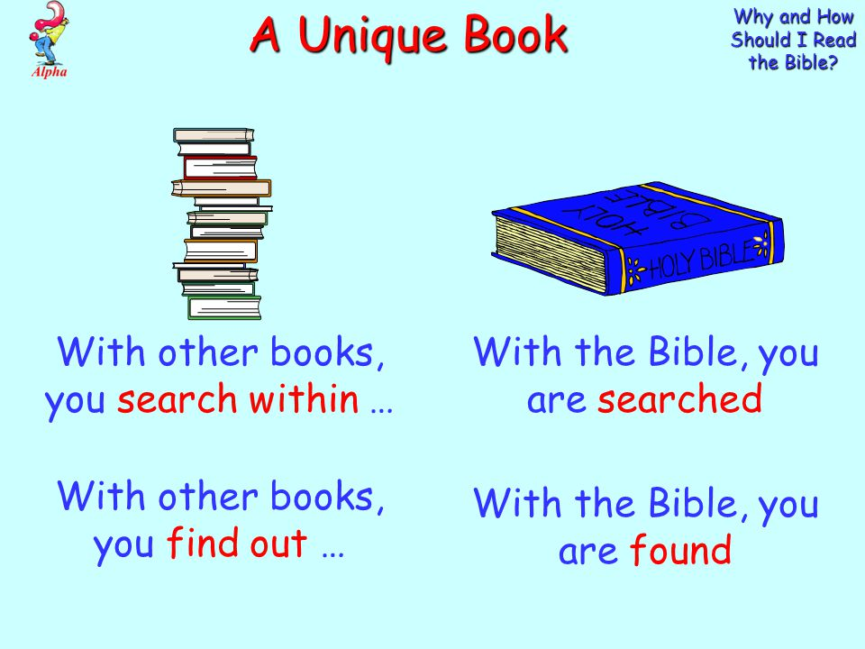 Why and How Should I Read the Bible.