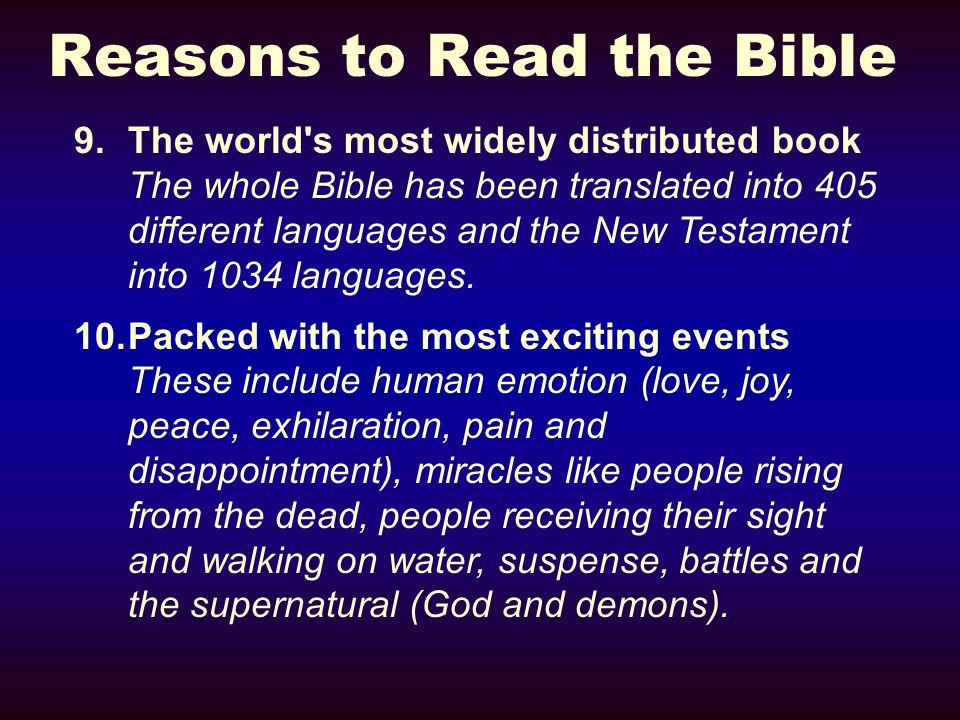 Study Tools  The Bible itself.