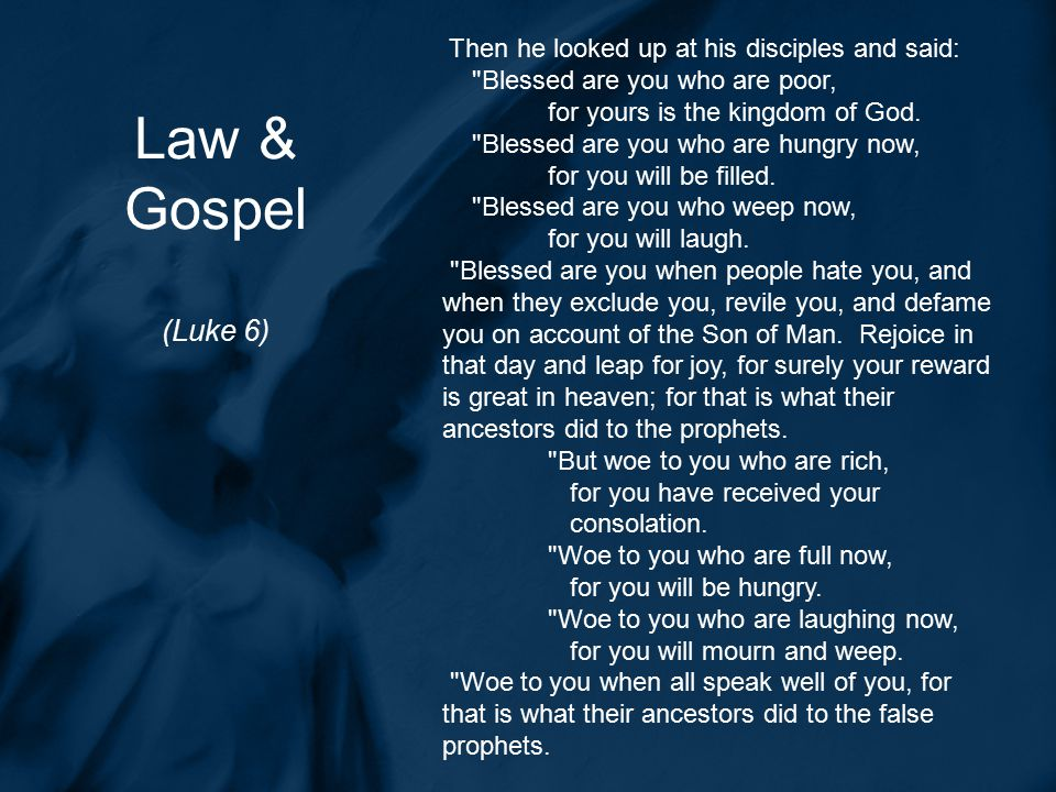 Five Key Lutheran Principles for Dealing with Scripture 1.Law & Gospel 2.Shows forth Christ