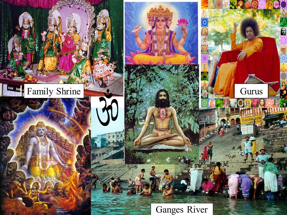 Ganges River GurusFamily Shrine