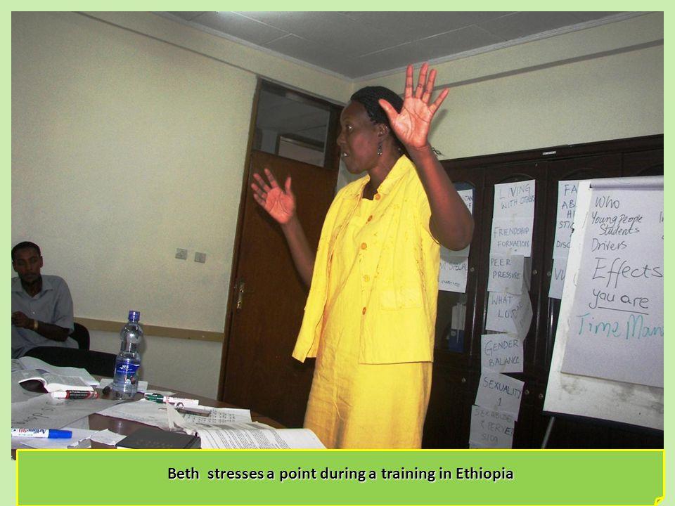Scripture Union Ethiopia National Director Mr.