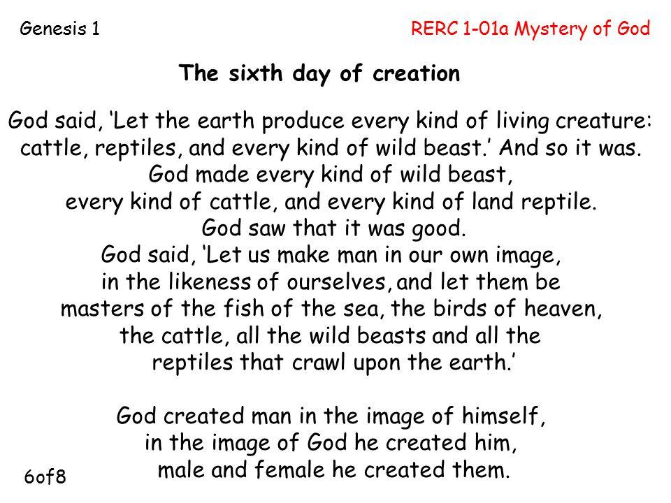 RERC 1-01a Mystery of GodGenesis 1 P5.