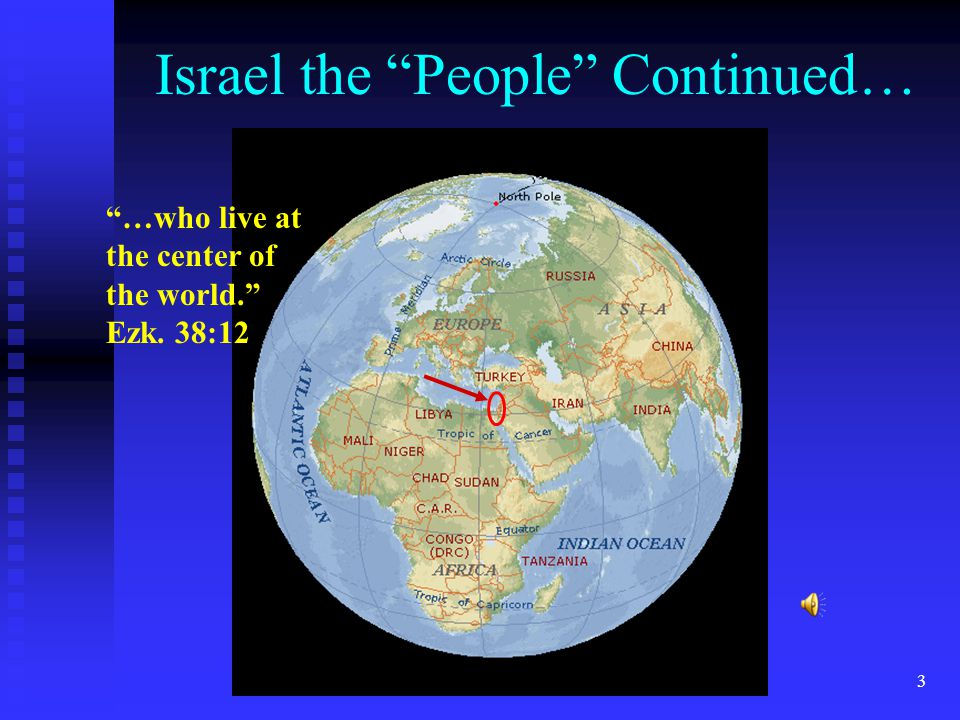 13 Israel the People Continued… Who then is Israel (of the Bible).
