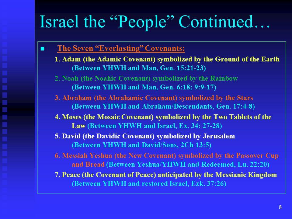 8 The Seven Everlasting Covenants: 1.