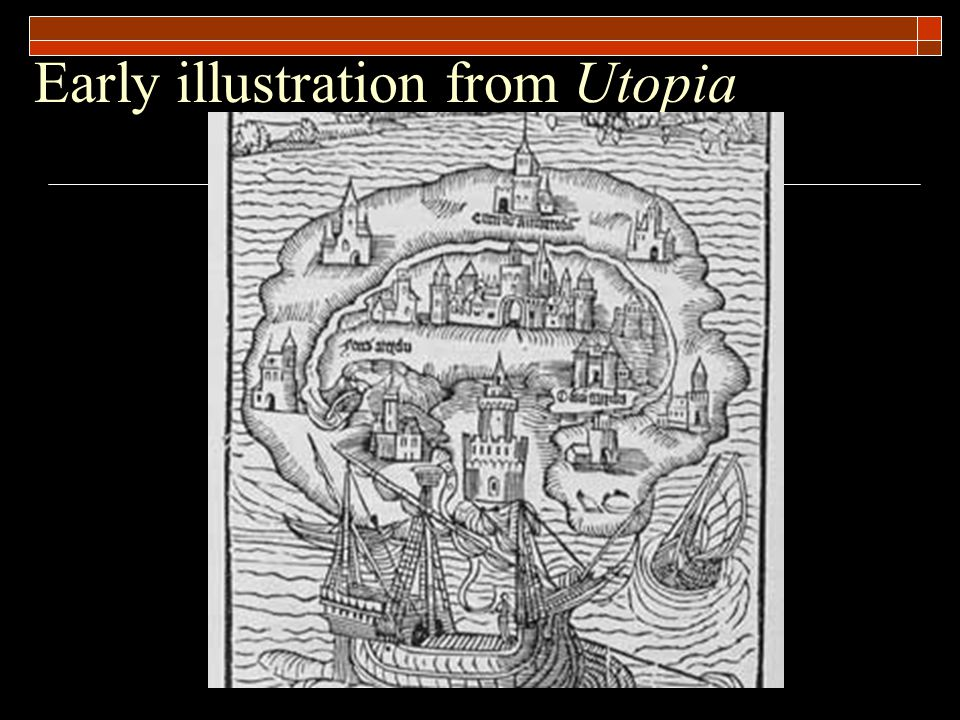 Early illustration from Utopia