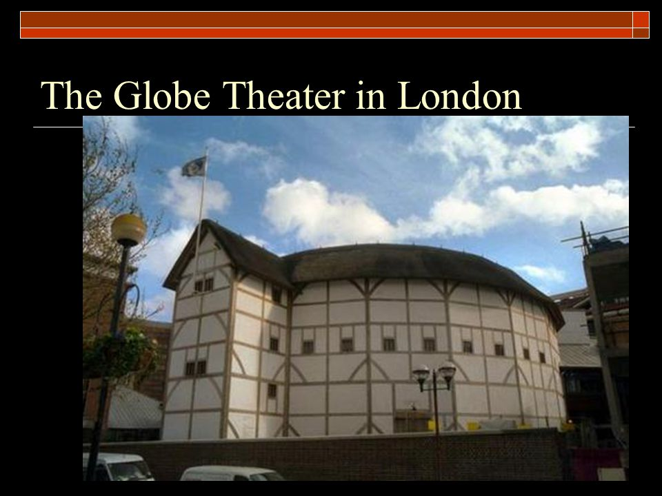 The Globe Theater in London