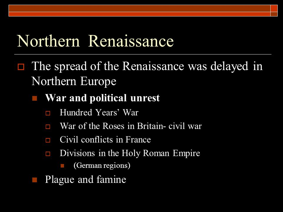 renaissance means rebirth The Renaissance began a period of renewed interest and engagement with classical (Greco-Roman) learning, culture, literature, art, architecture, values, style, etc.
