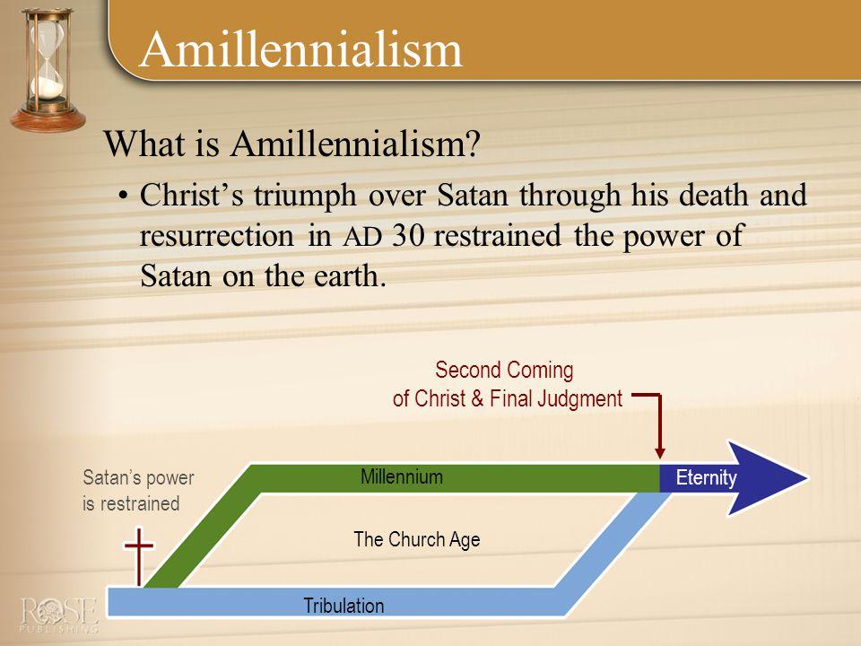 Amillennialism What is Amillennialism.
