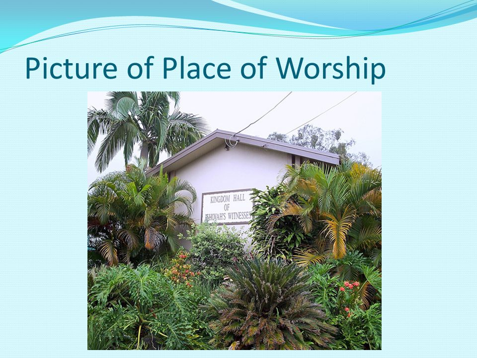 Picture of Place of Worship