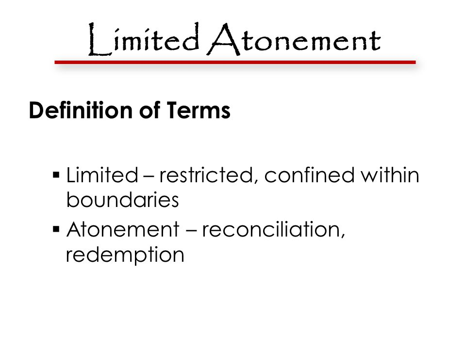 Limited Atonement Refuted by Scripture: The Bible says that Christ died for the whole world.