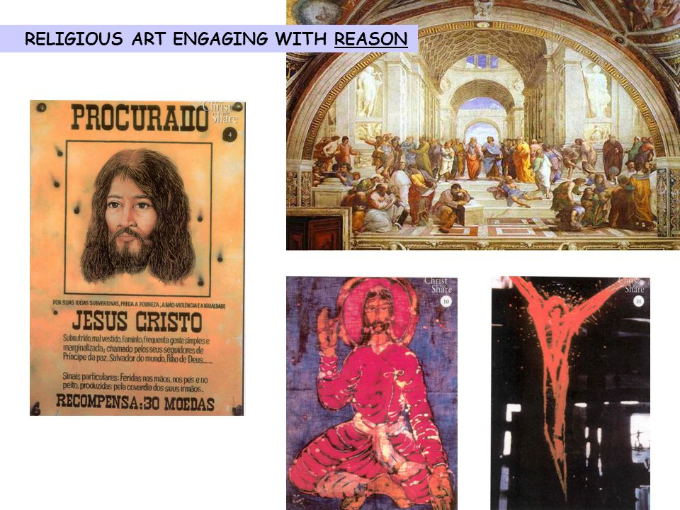 RELIGIOUS ART ENGAGING WITH REASON
