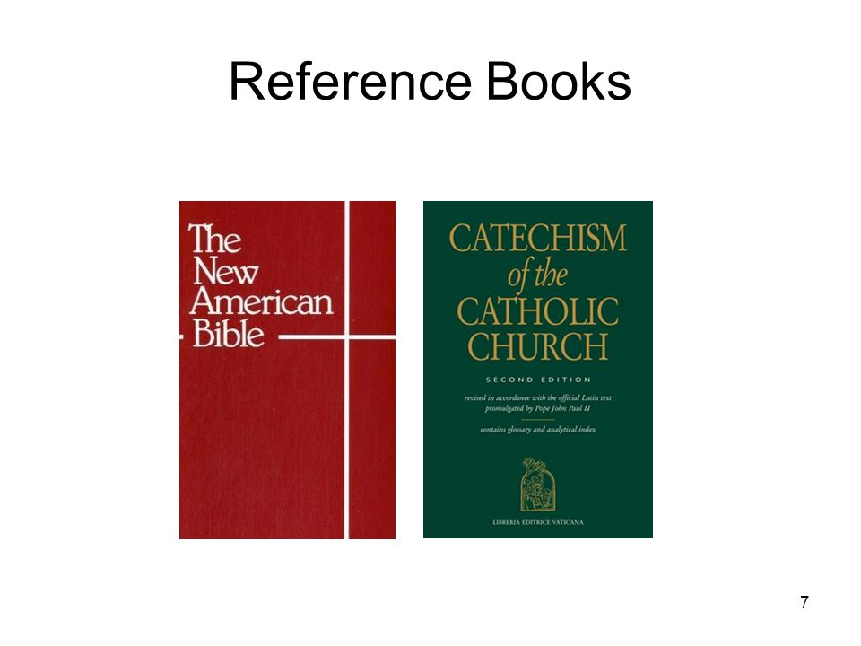 7 Reference Books