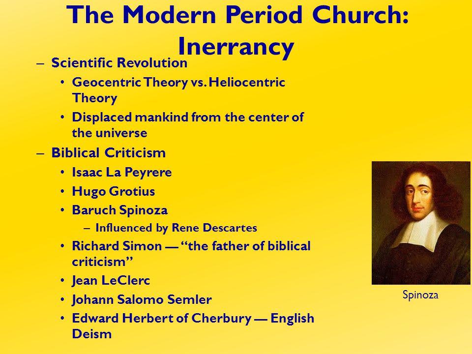 – Scientific Revolution Geocentric Theory vs.