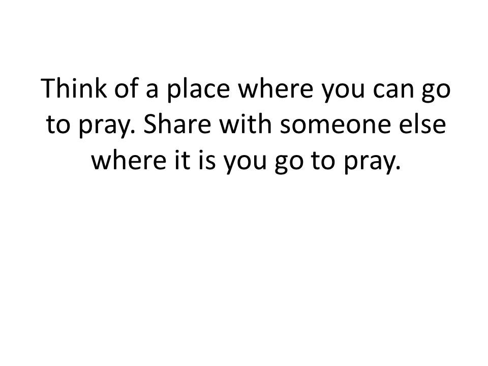 Write down the need(s) of teens that they bring to God in prayer, seeking help, seeking answers.