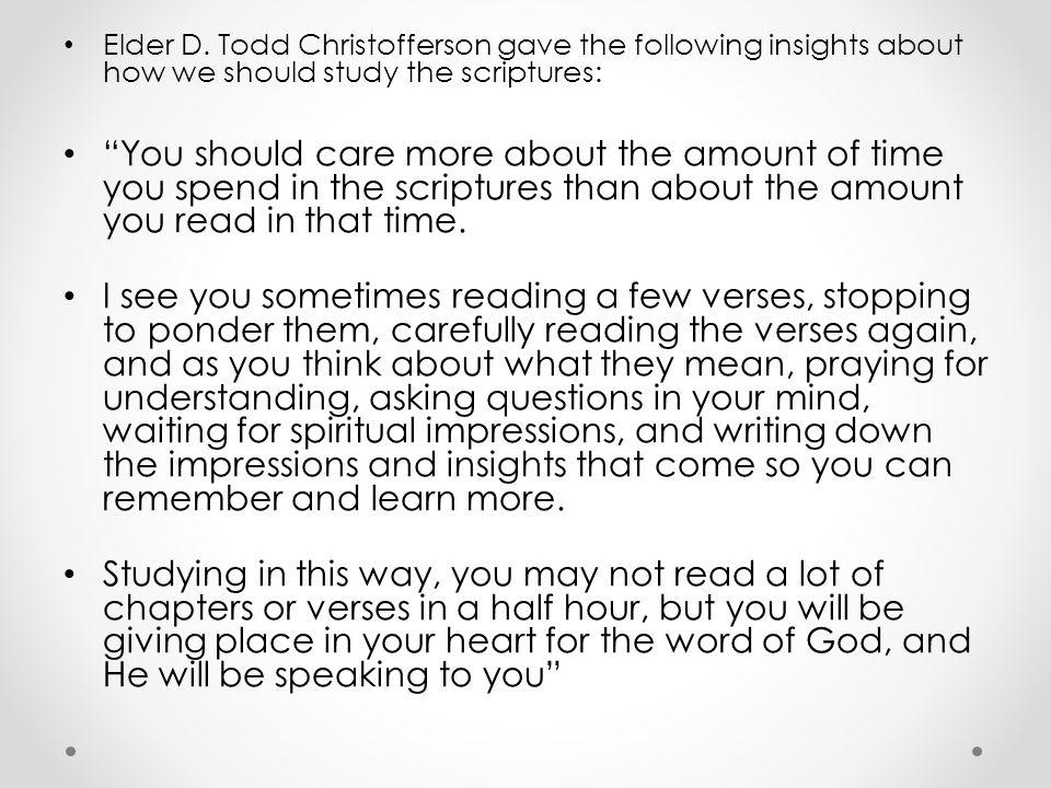 Scripture Power.