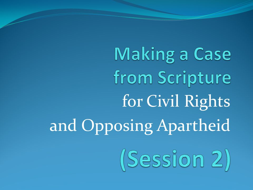 for Civil Rights and Opposing Apartheid