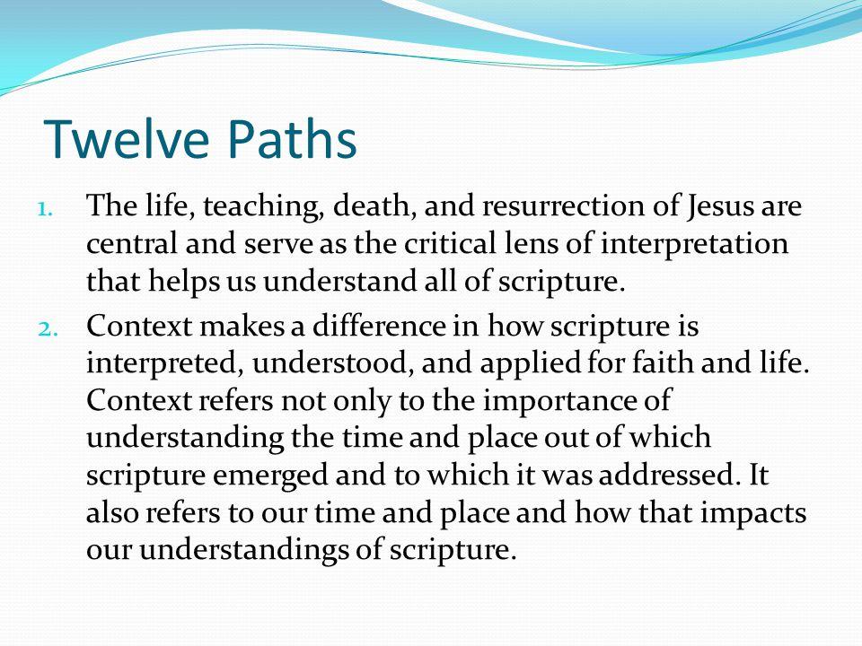 Twelve Paths 1.