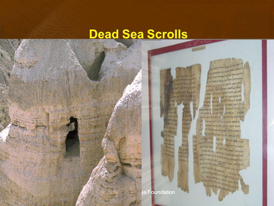 Dead Sea Scrolls The Biblical Studies Foundation