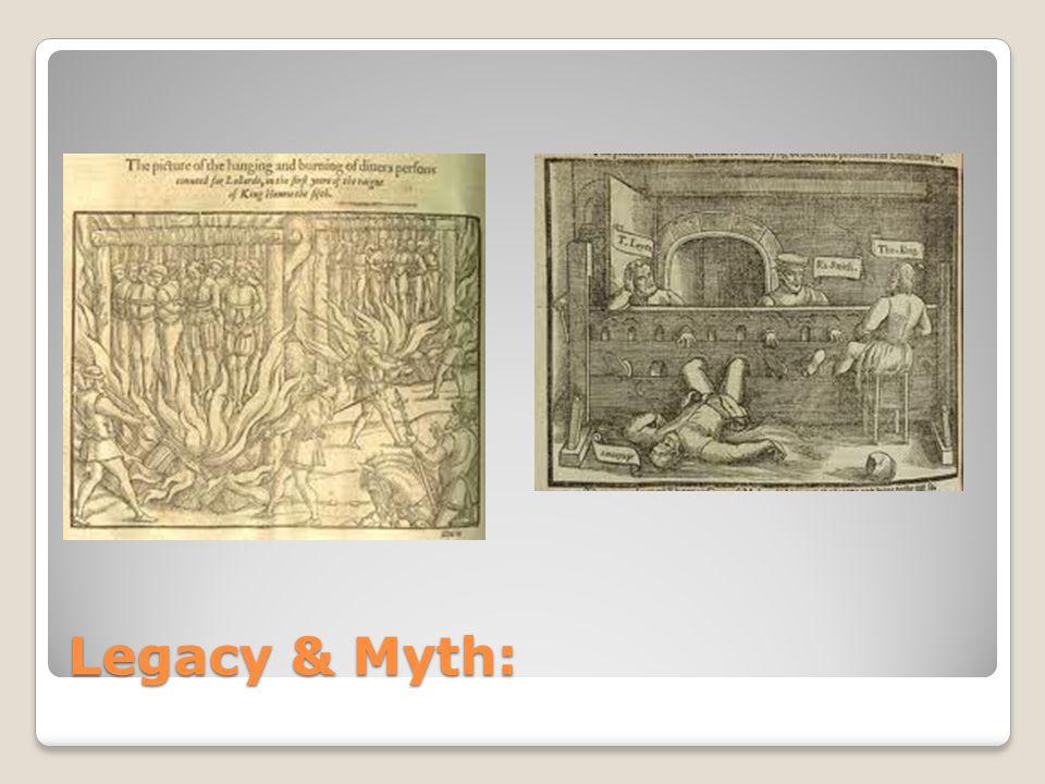 Legacy & Myth:
