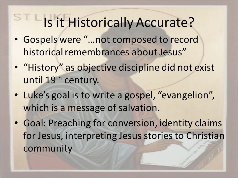 Calendar 9/16 – Intro, full gospel 9/23 – Infancy, prep for ministry, 1:1-4:13 9/30 – Ministry in Galilee, 4:14-9:50 10/7 – Journey to Jerusalem, 9:51-19:27 10/14 – Ministry in Jerusalem, 19:28-21:38 10/21 – Passion and resurrection, 22:1-24:53