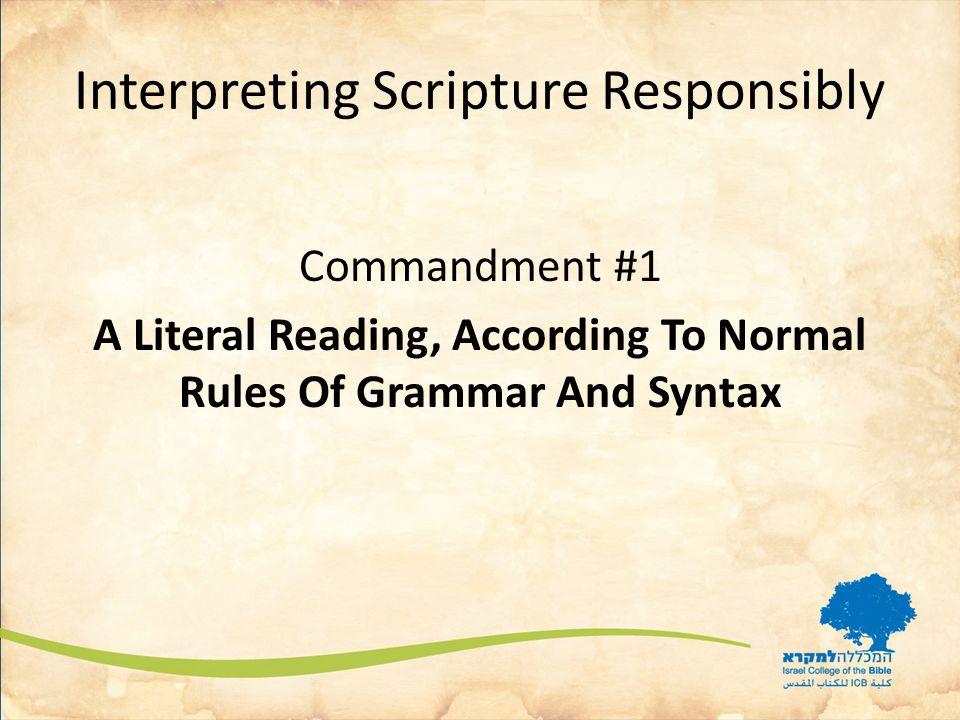 Reading and Interpreting OT Narratives What are biblical narratives.