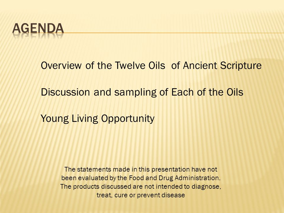 Ancient Uses: Ingredient in Moses' Holy Anointing Oil.