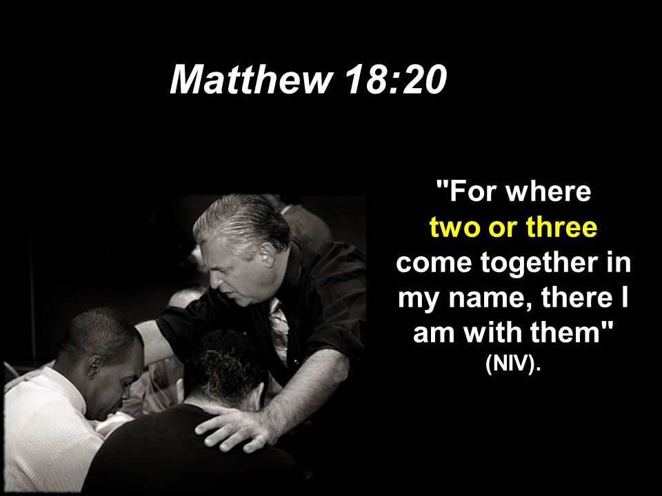 Why discipline? When we seek to restore someone… We act in the place of the Father (18-19) We act in the presence & authority of Christ (20)