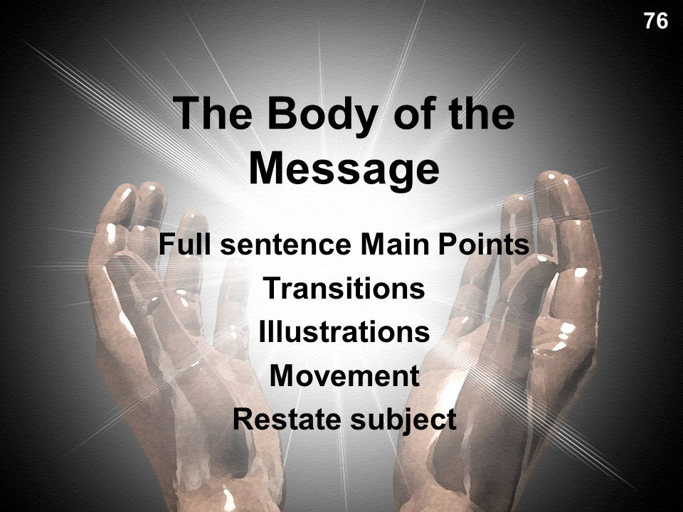 Previewing Your Message Today's passage will show us… 2 ways to reverence God (pp. 51, 82)2 ways to reverence God (pp. 51, 82) Examples Reviews your s