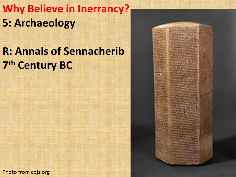 Why Believe in Inerrancy.