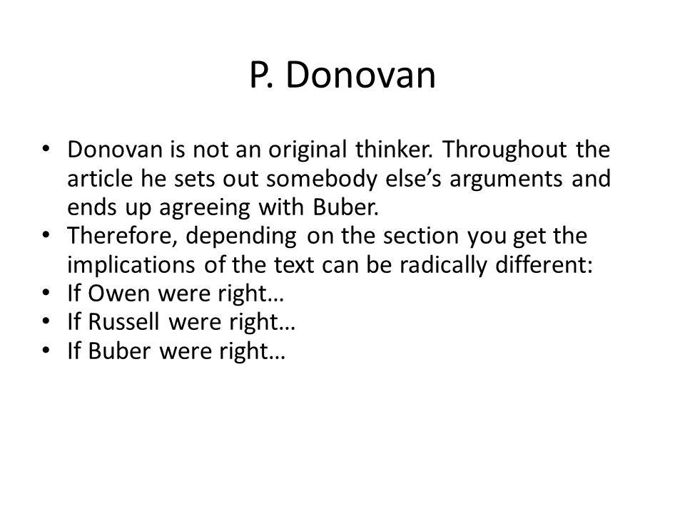 P.Donovan Mediated Immediacy, H.P.