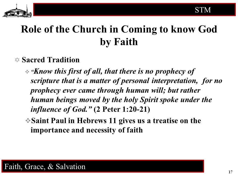 18 STM RCIA Faith, Grace, & Salvation ? ? ? Q U E S T I O N S ? ? ?