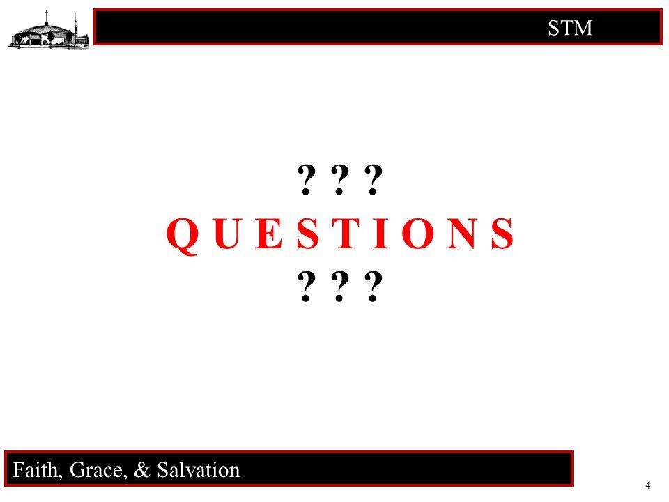 5 STM RCIA Faith, Grace, & Salvation Faith