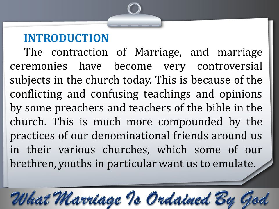 Your Logo Divorce is not allowed except for adultery (Mt.