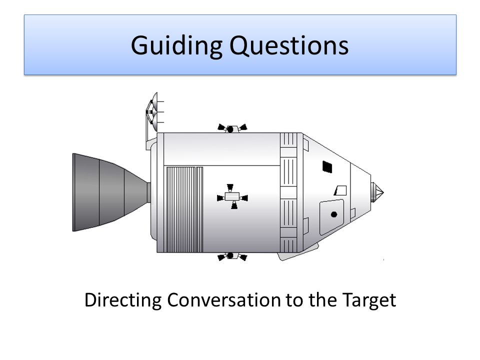 Guiding Questions Directing Conversation to the Target