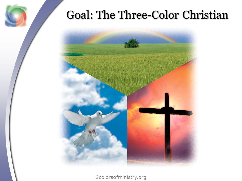 Three dimensions of ministry 3colorsofministry.org There are different kinds of gifts, but the same Spirit.