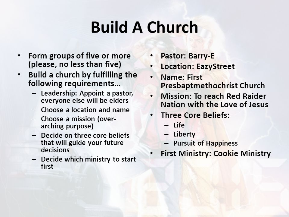 Ecclesia to Church Ecclesia was used by then modern day Greek speaking people to describe or declare a gathering of a regular assembly of citizens.