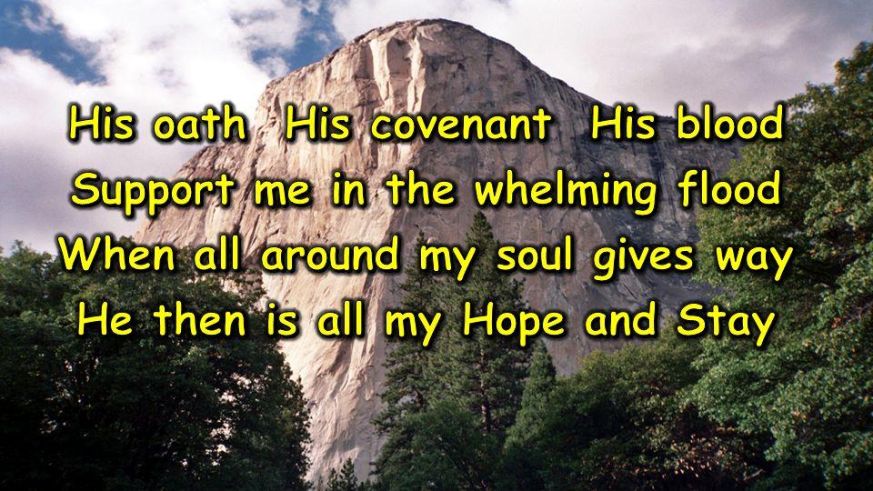 When I _______ to Him in my day of ______.When I _____ in Him to _____ my paths.