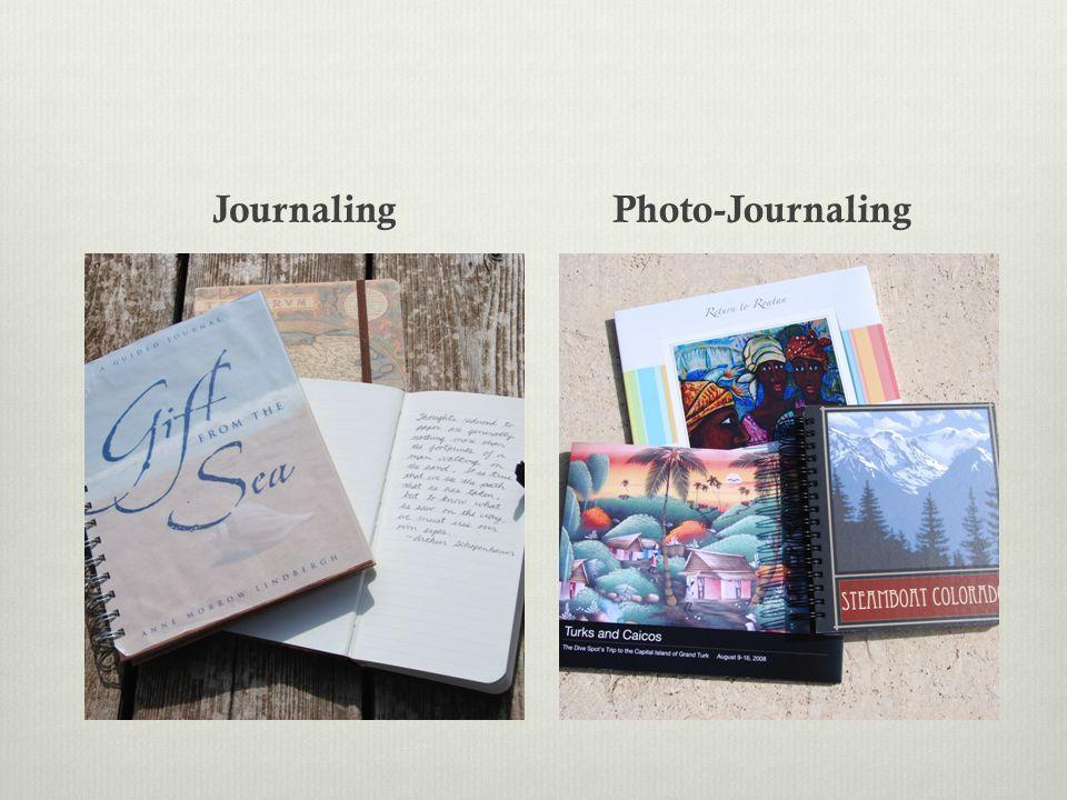 JournalingPhoto-Journaling