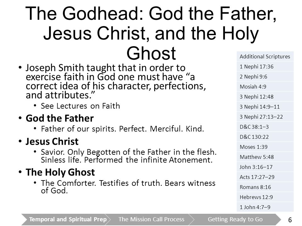 7 Joseph Smith and Living Prophets 1820.