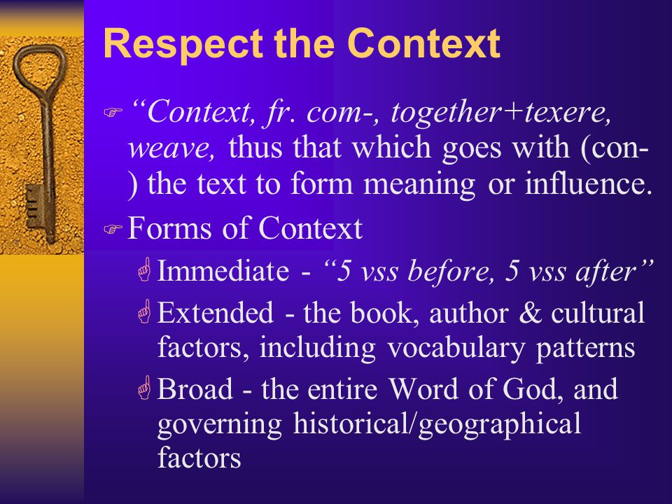 Seek the Full Counsel Of God's Word F Nothing is taught by proof-texting GEven Satan quoted scripture.