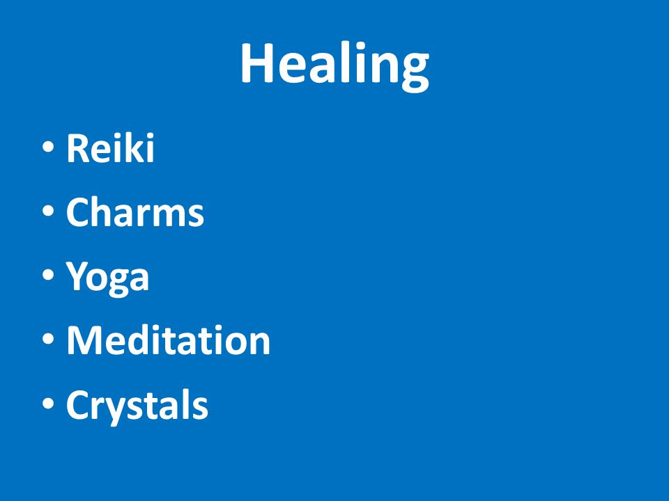 Healing Reiki Charms Yoga Meditation Crystals