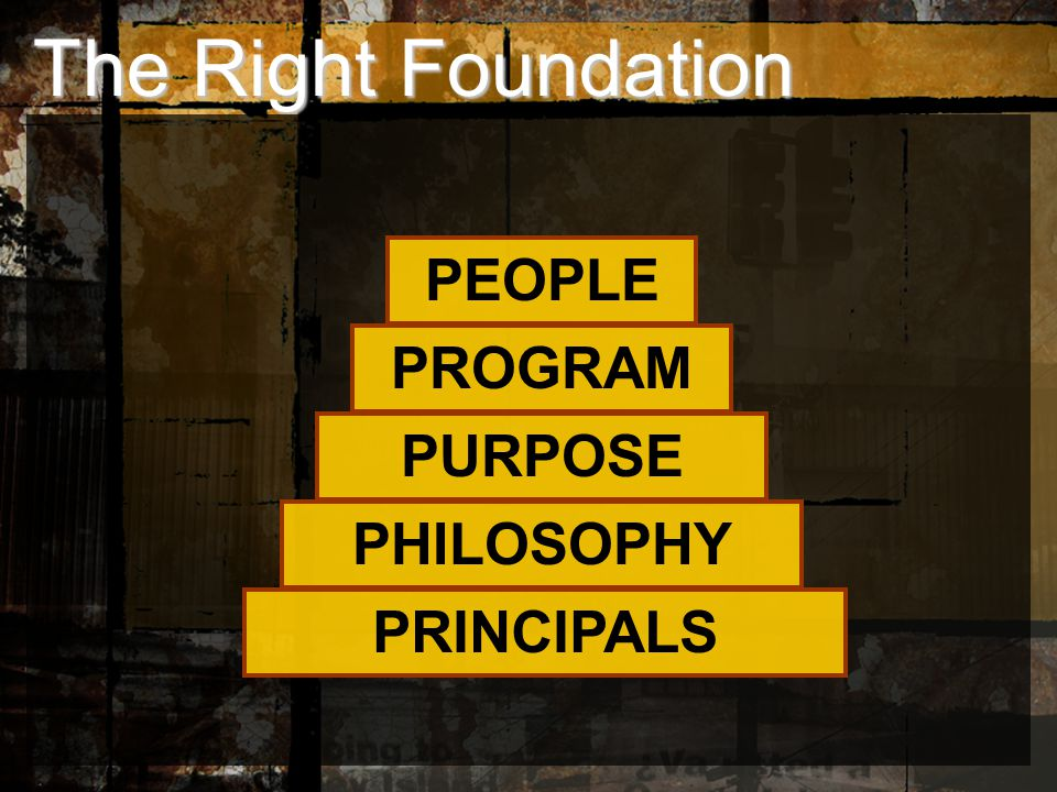 PRINCIPALS PHILOSOPHY PURPOSE PROGRAM PEOPLE