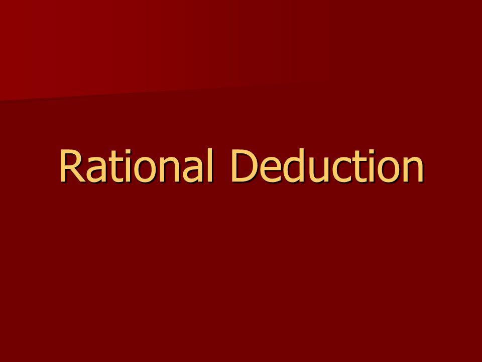 Rational Deduction