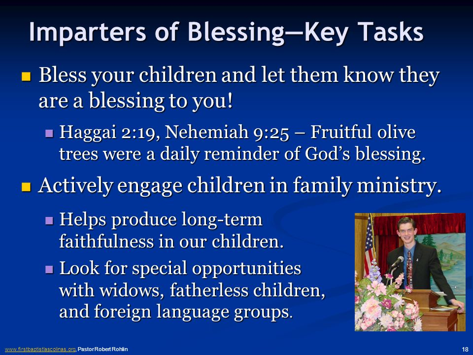 www.firstbaptistlascolinas.orgwww.firstbaptistlascolinas.org, Pastor Robert Rohlin 17 4.