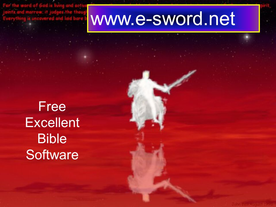www.e-sword.net Free Excellent Bible Software