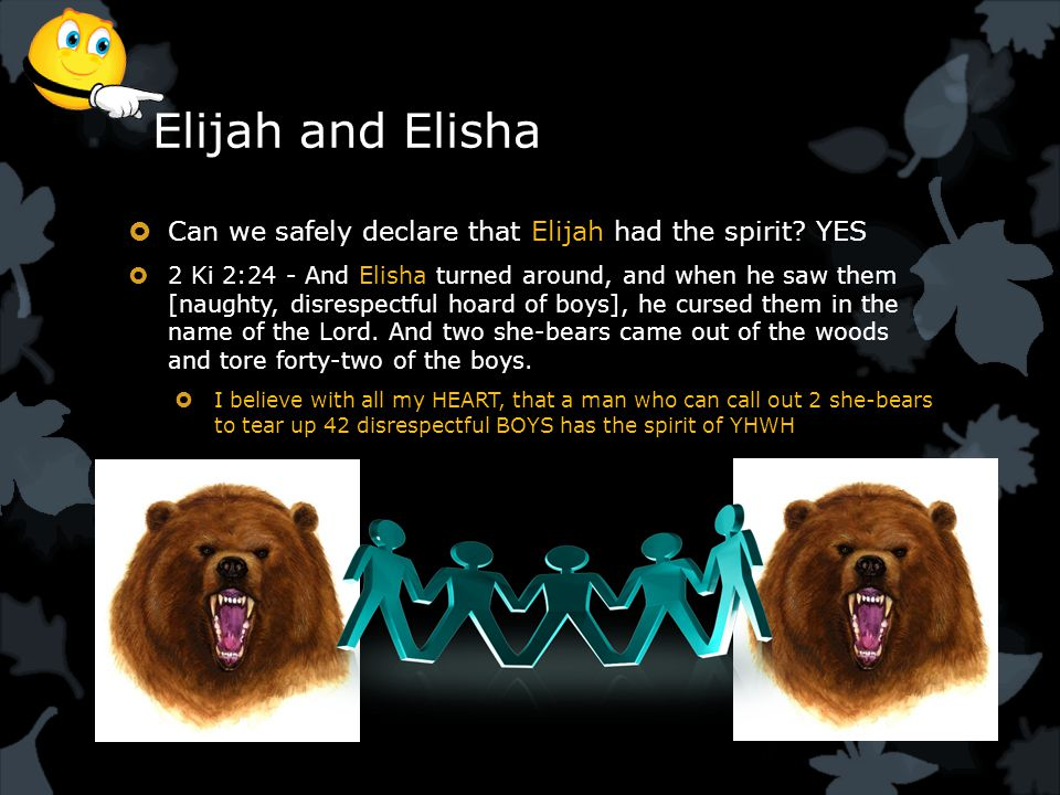 Elijah and Elisha  Can we safely declare that Elijah had the spirit.