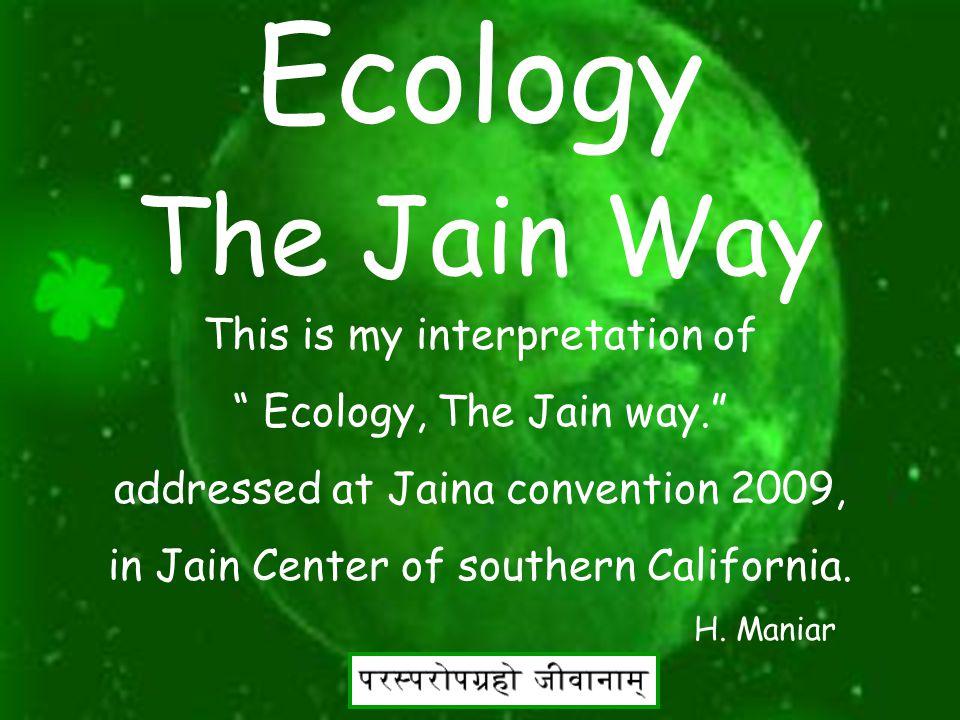 2 Ecology The Jain Way
